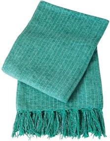 Xale De Sofá De Tear Em Chenile 1,80 X 1,20 Verde