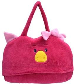 Cobertor Bebê Com Capuz Pink - Tip Top