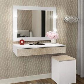 Espelho Lunna Camarim Branco