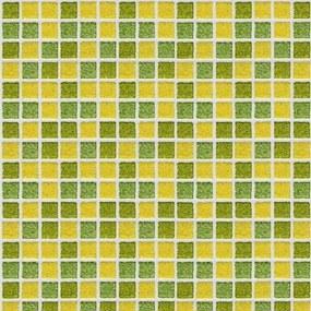 Pastilhas Adesivas Verde E Amarela (0,60m x 2,50m)
