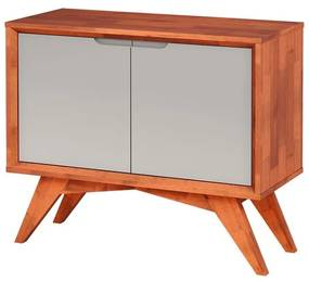 Buffet Uriel 2 Portas Natural e Fendi - Wood Prime MP 27561