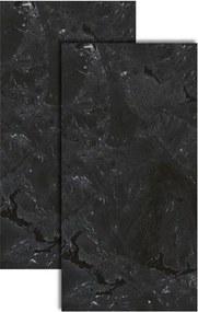 Porcelanato Infinity Black Retificado 52,7x105cm - Biancogres - Biancogres