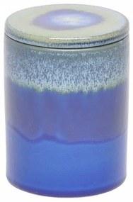 Pote Decorativo em Cerâmica Azul Tie Dye G