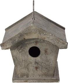 Casa de Pássaro em Metal Tradicional Retrô