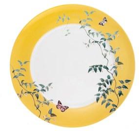 Jogo Prato Raso Anna Germer - Estampado - Porcelana