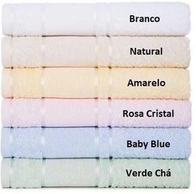 Toalha Para Bordar Karsten Sophi - Cor: Baby blue - Tamanho: Rosto 50 x 80 cm - Karsten