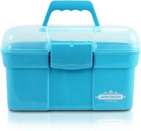 Caixa Organizadora com Alça e Trava Jacki Design AHX16102 Azul