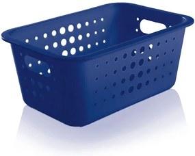 Caixa Organizadora Média - Azul Escuro - Ou