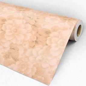Papel de parede adesivo floral nude