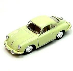 Miniatura 1948 Porsche Carrera 356 Escala 1:32 Verde Limao