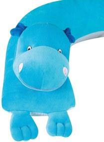 Almofada Amamentação Hipopótamo Grão de Gente Azul