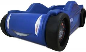 Mini Cama Speed Blue Cama Carro Do Brasil Azul