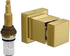 Acabamento de Registro de Pressão MVR Cubo Gold 3/4