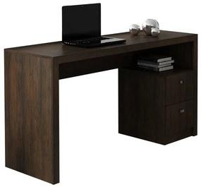 Mesa Para Escritório ME4130 Rustico - Tecno Mobili