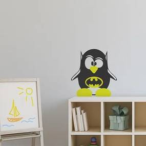 Adesivo Decorativo Pinguim 14