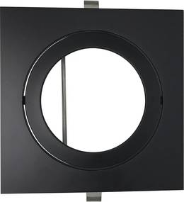 Embutido Direcional Quadrado para AR111 Preto GU10 - Bella Luce - BL1088/1PF