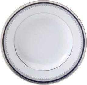 Jogo Pratos Fundos Porcelana 6pcs Limoges Mimosa 22cm 17299 Wolff