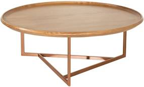 Mesa de Centro Tillie Cinamomo Cobre - Wood Prime PV 32596