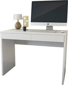 Escrivaninha 6080 Luxo Branco Móveis JB Bechara