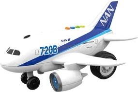 Miniatura Aviao com Luz e Som Shiny Toys