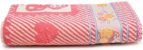 Toalha de Banho Artex Infantil Cissa 70x140cm Roxa