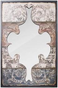 Espelho Recortado Arabesco Pintados