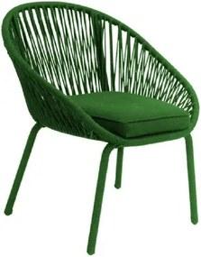 Poltrona de Corda Net Verde