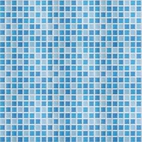 Pastilhas Adesivas Azuis (0,60m x 2,50m)
