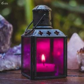 Lanterna Indiana Rosa 11cm