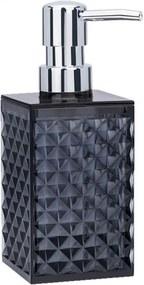 Porta-Sabonete Haus Concept Liquido Classic Fumê Preto