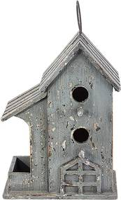 Casa de Pássaro com Varanda