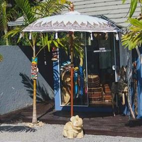 Guarda-sol de Madeira Balinês