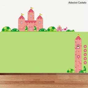Adesivo Castelo Princesa