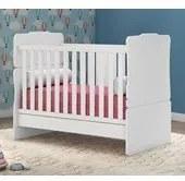 Berço Infantil Mini Cama Amore Branco 7715 Qmovi