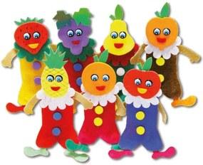 Dedoche Frutas Feltro 7 Personagens - Carlu