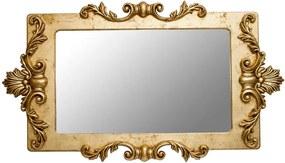 Espelho Lavanda Retangular Entalhado -