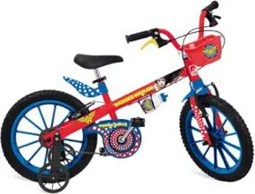 Bicicleta Aro 16 Mulher Maravilha 2365
