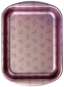 Assadeira Funda Tramontina Mulher-Maravilha 1984 em Alumínio com Revestimento Interno Antiaderente e Externo Poliéster Roxo Suave 28 cm 3,3 L -  Tramontina