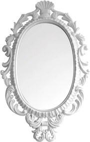 Espelho Oval Giant Princess Branco - Urban - 73x44 cm