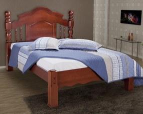 Cama de Casal Queen Andressa Madeira Maciça Bedroom