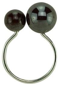 Jogo Anéis Para Guardanapos 4 Peças Plástico Bolas Vermelho 4x3x7cm 60719 Royal