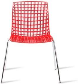 Cadeira com Design Italiano Vermelha