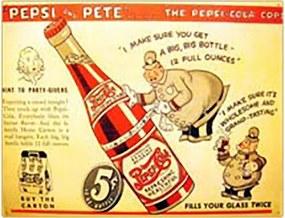 Placa Decorativa Pepsi Cola