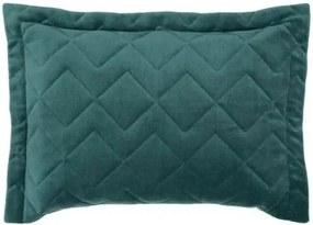 Porta Travesseiro Altenburg -Blend Malha Verde Jasper