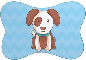 Tapete PET Cachorro Azul46x33cm