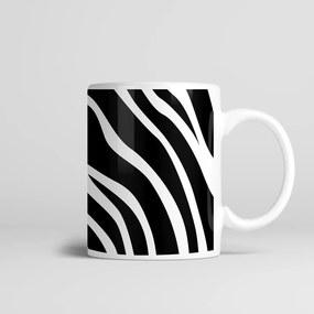 Caneca Cerâmica 330ml Zebra - Kokken