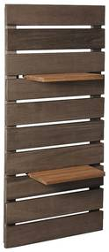 Dack Parede Vertical com Prateleiras - Wood Prime MR 34654