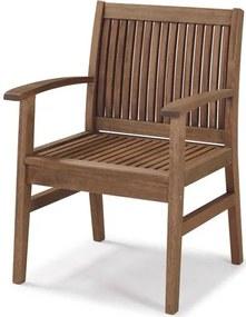 Cadeira Com Bracos Primavera Stain Castanho - 34890 Sun House