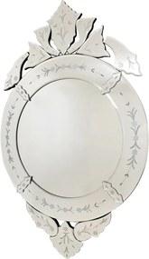 Espelho Decorativo Veneziano Oval Toletto