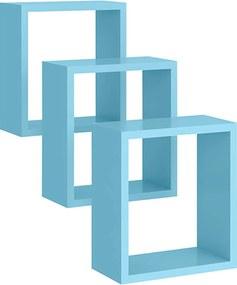 Nicho Quadrado Azul Peternella Móveis